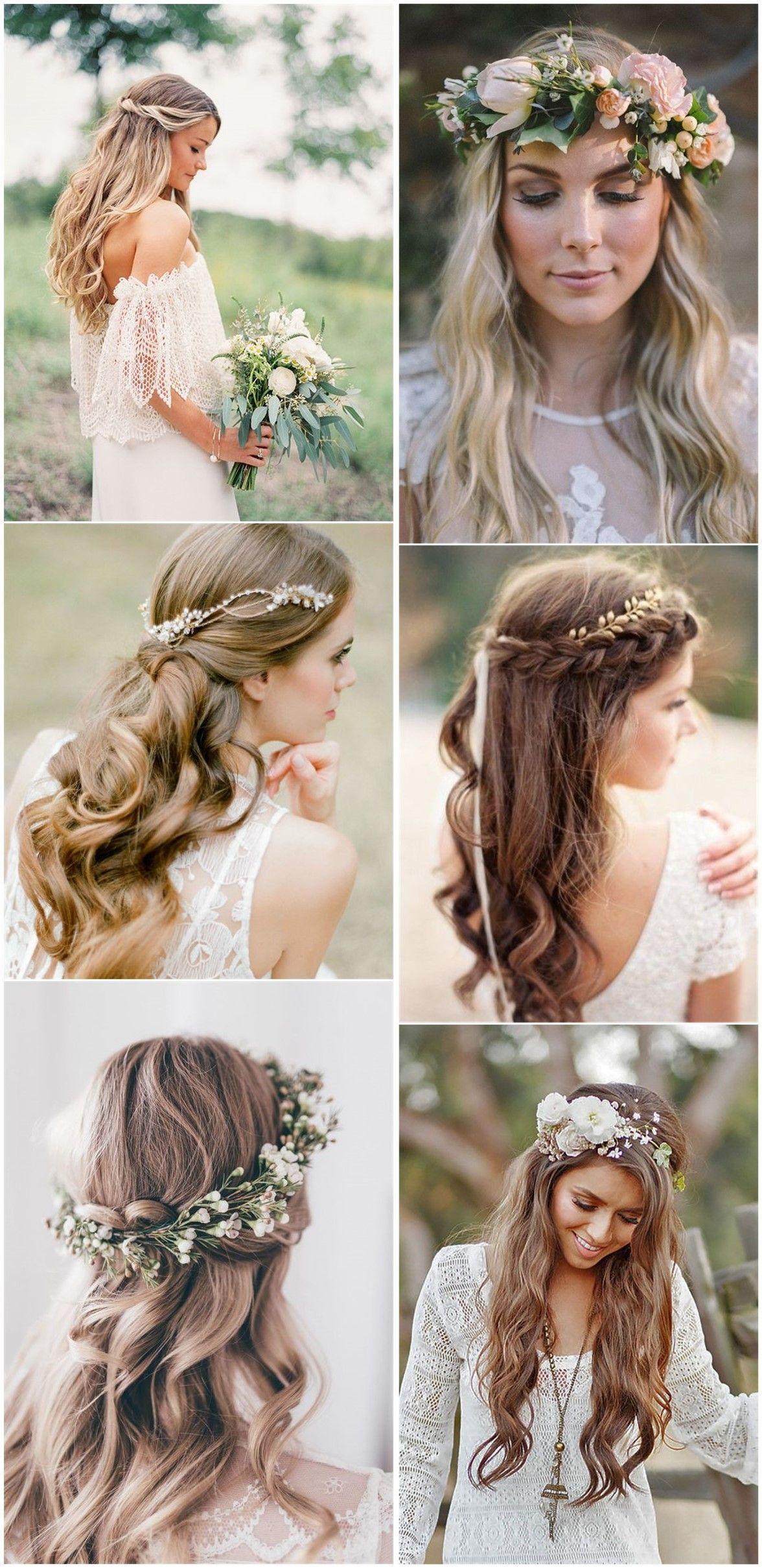 Wedding Hairstyles 21 Inspiring Boho Bridal Hairstyles Ideas To Steal Frisur Hochzeit Beste Hochzeitsfrisuren Hochzeitsfrisuren