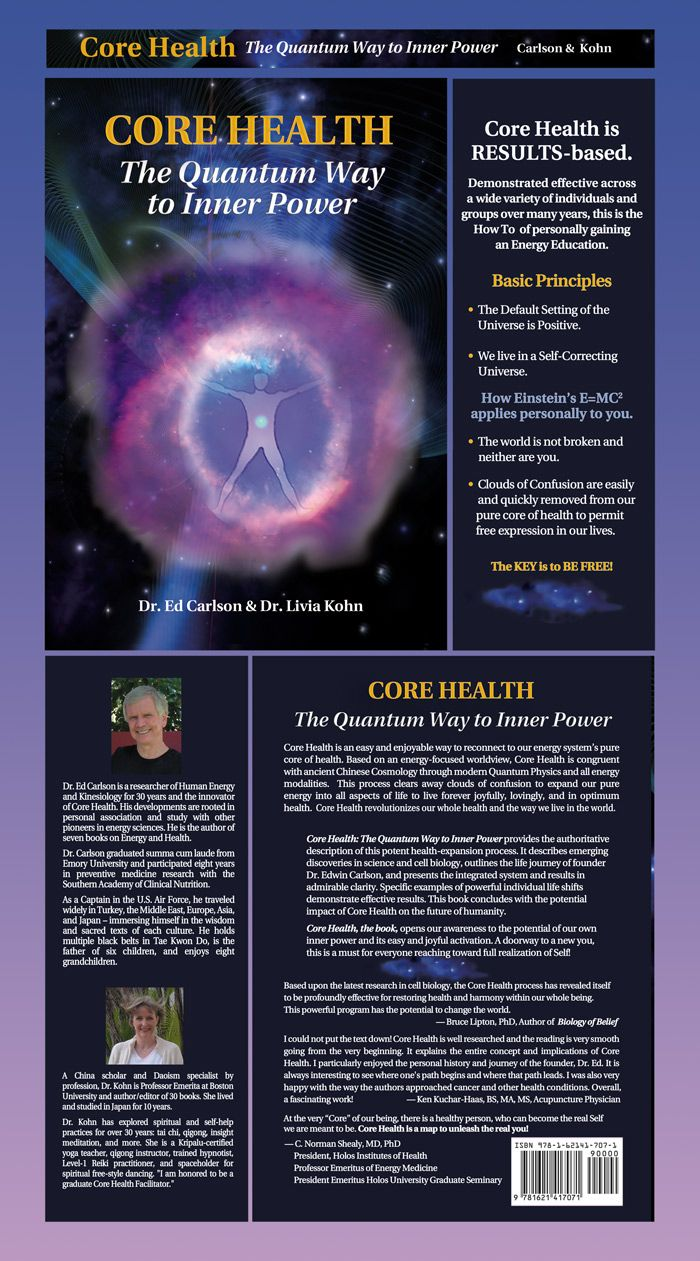 Core Health The Quantum Way To Inner Power Bruce Lipton Phd Author Of Biology Of Belief Says Based Energy Psychology Energy Medicine Biology Of Belief