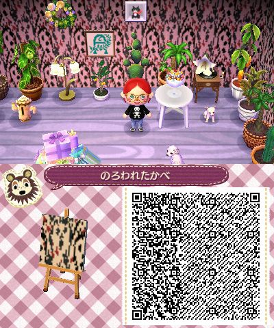horror wallpaper (With images) Animal crossing qr