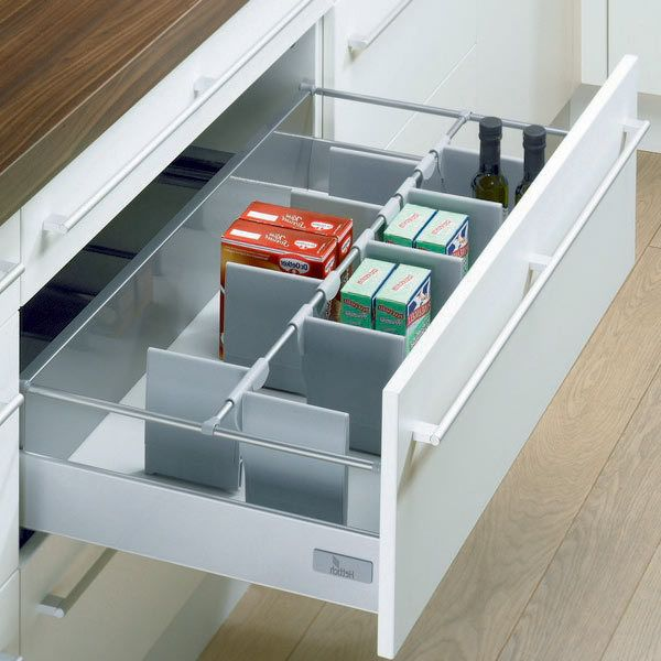 Hettich Drawer Storage Set Kitchen Drawer Storage Kitchen Drawer Dividers Storage Sets
