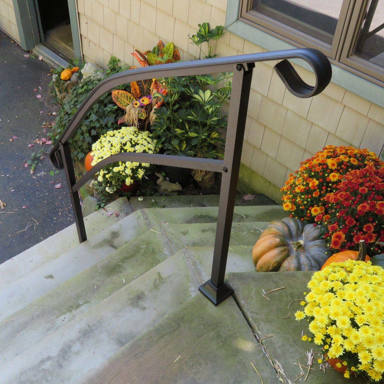 Best Instantrail 5 Step Adjustable Handrail For Concrete Steps 400 x 300