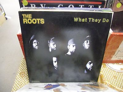 THE ROOTS What They Do vinyl 12 Inch 1996 Geffen Records EX