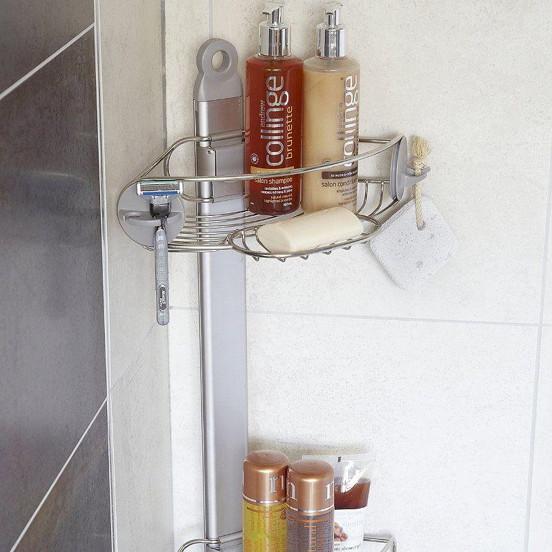 Simplehuman Corner Shower Caddy Home Decor Corner Shower Caddy