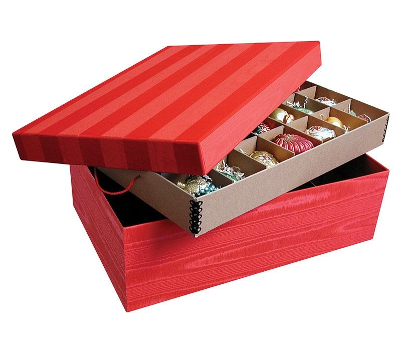 Ultimate Ornament Box Holiday Storagechristmas