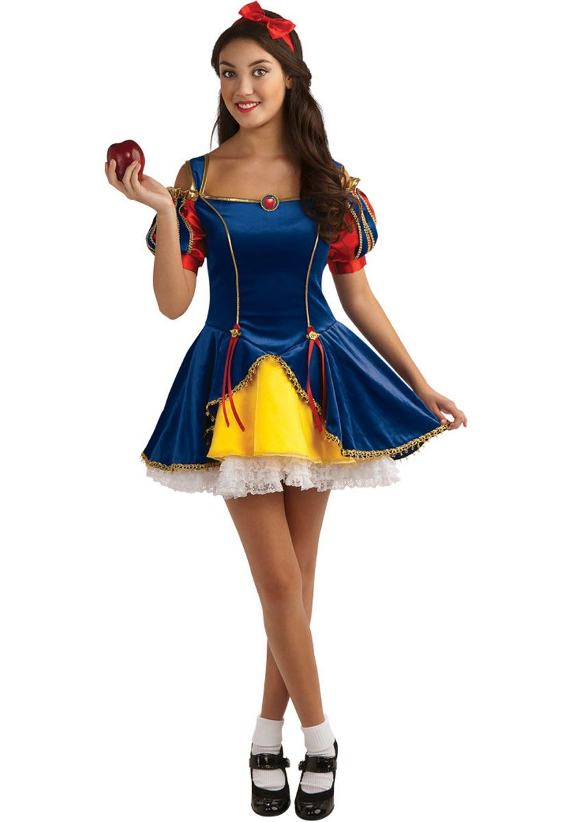 Teen Snow White Costume - Fairy Tale Costumes at Escapade™ UK - Escapade Fancy Dress on Twitter @Escapade_UK  sc 1 st  Pinterest & Teen Snow White Costume - Fairy Tale Costumes at Escapade™ UK ...