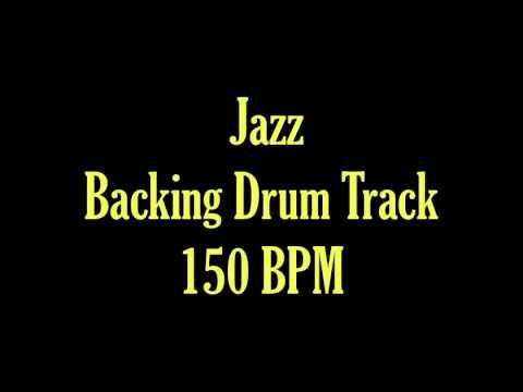 Jazz Drum Track brushes 150 BPM Backing Track