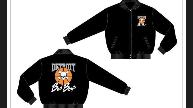 Detroit Bad Boys Wool varsity jacket in stock now @ DonnaSacs.Com