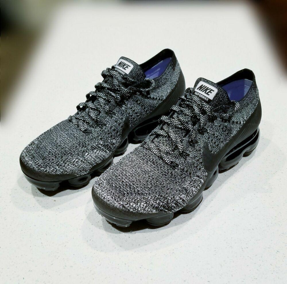 sports shoes 294e0 3e595 Nike Vapormax 2.0 Flyknit Black White Oreo 849558-041 Men's ...