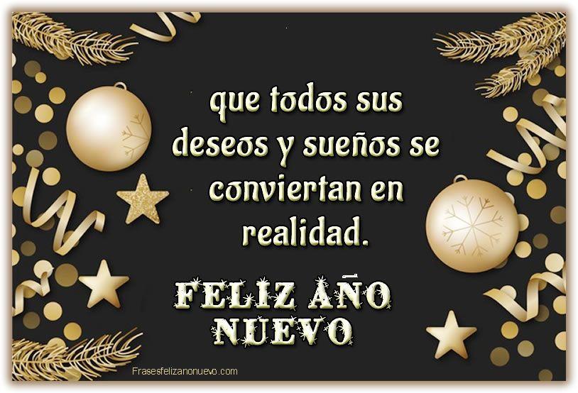 Imágenes Y Frases De Año Nuevo 2021 Cortas Y Bonitas Feliz Año Frases Frases De Año Nuevo Felicitaciones De Año Nuevo