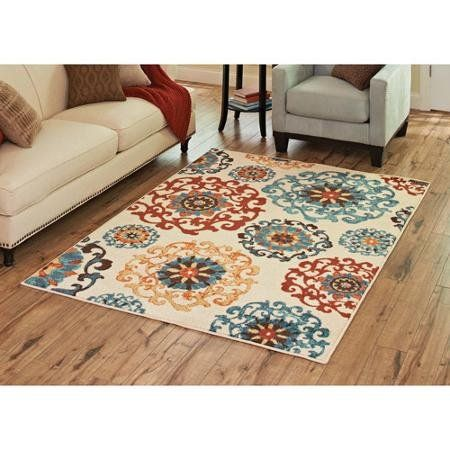 Better Homes And Gardens Suzani Area Rug Multi Colored Brighten Up Your Room With The
