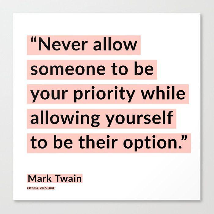 19 | Mark Twain Quotes 200908 Motivational Inspirational Inspiring Motivating Canvas Print by Wordz