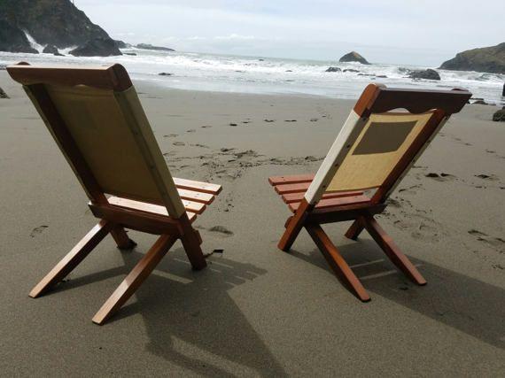 Silla Rescatado Redwood Plegable Lona Rodales Playa VerdeMedidas b6yfg7Yv