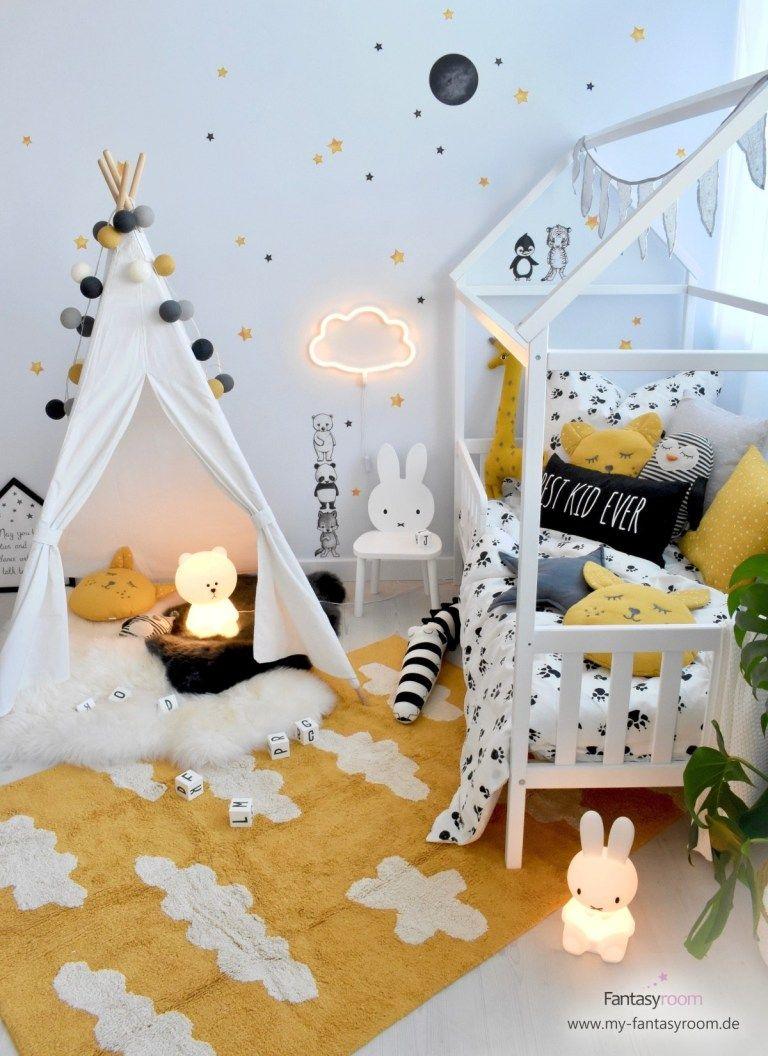 Photo of Furnish & design children's room in yellow