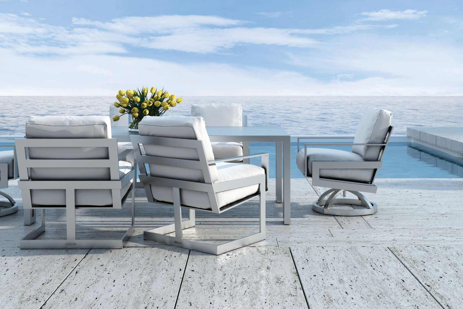 Pin by Castelle on Eclipse Collection | Luxury outdoor ... on Fine Living Patio Set id=61955