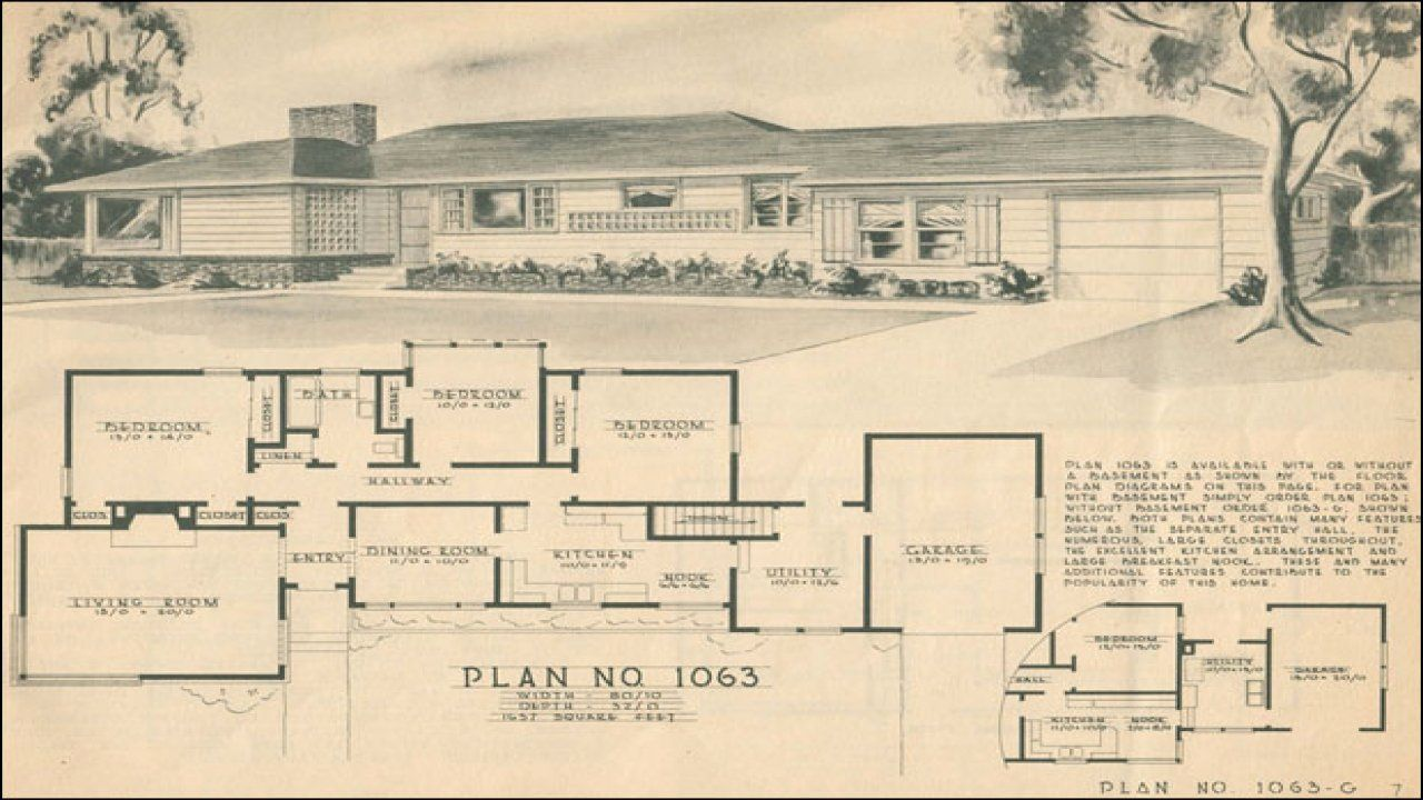 1950s Ranch Style House Plans Fresh 1950 Ranch Home Designs 1950 Ranch Style House Plans For Building Plans House Ranch Style House Plans Ranch Style Homes