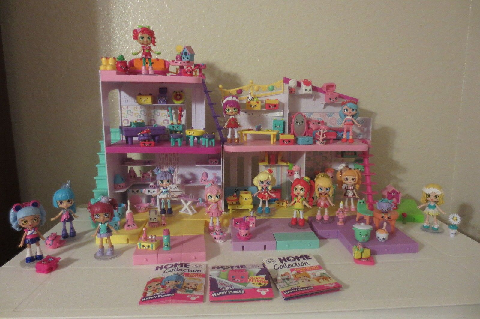Huge Shopkins Happy Places Lot Shoppies Petkins