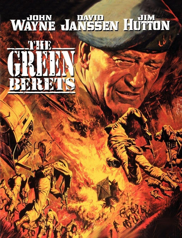 THE GREEN BERETS - John Wayne - Warner Bros. - Movie poster art ...