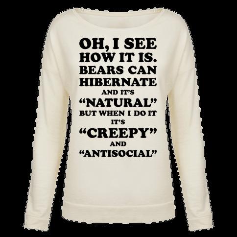 Hibernation T-Shirts   LookHUMAN