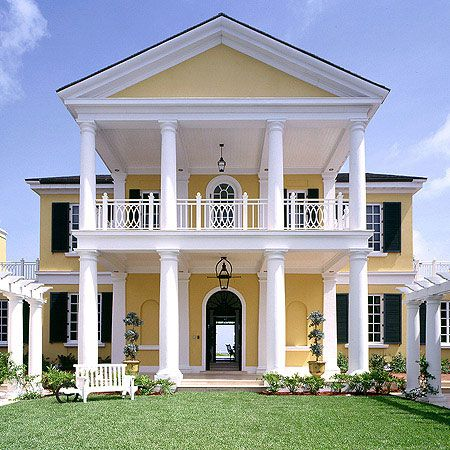 British Colonial House The Bahamas Exteriors