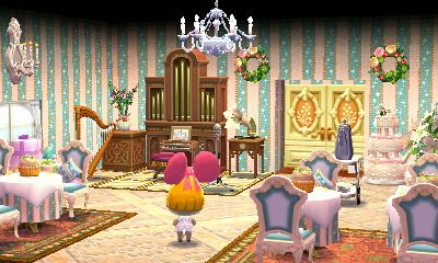 Animal Crossing Happy Home Designer Penelope A Wedding Party Visit In Game 0793 7761 069