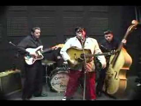 Omar & The Stringpoppers - Connie Lou. Pre-European Rehearsal in 2005.