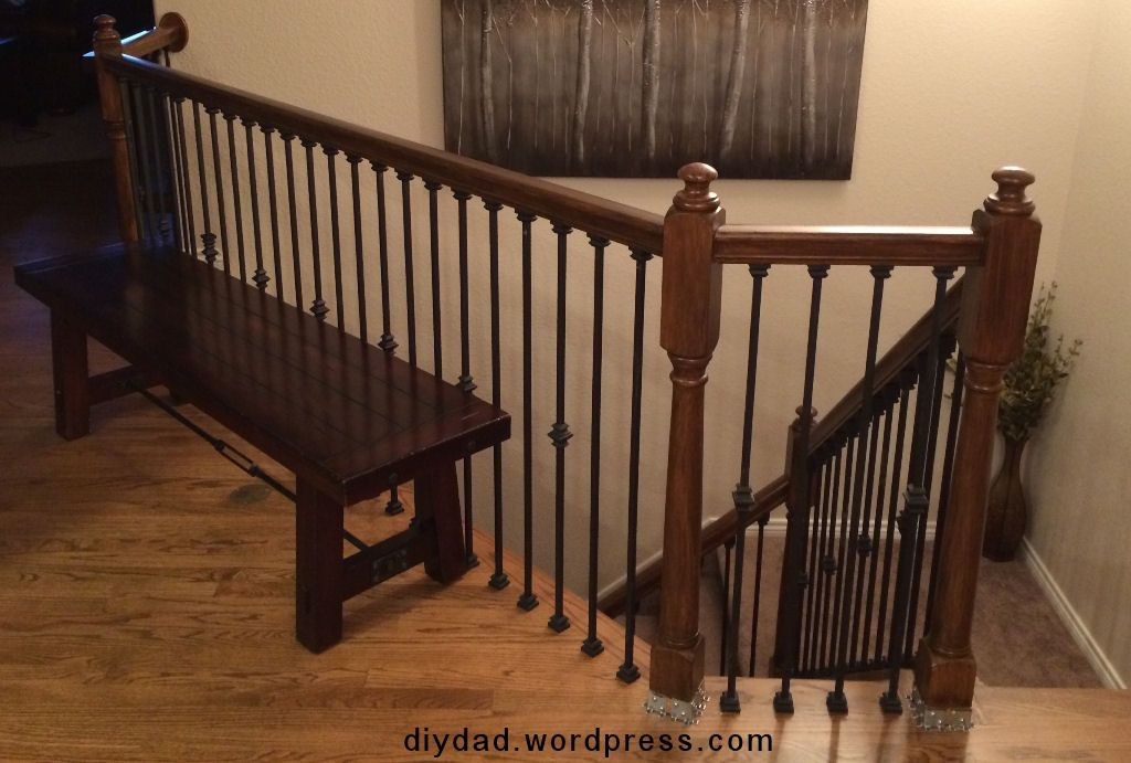 Best Replacing Wood Balusters With Wrought Iron Sort Of 400 x 300