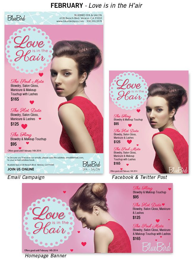 Valentines Day Salon Promotions Ready To Wear Our