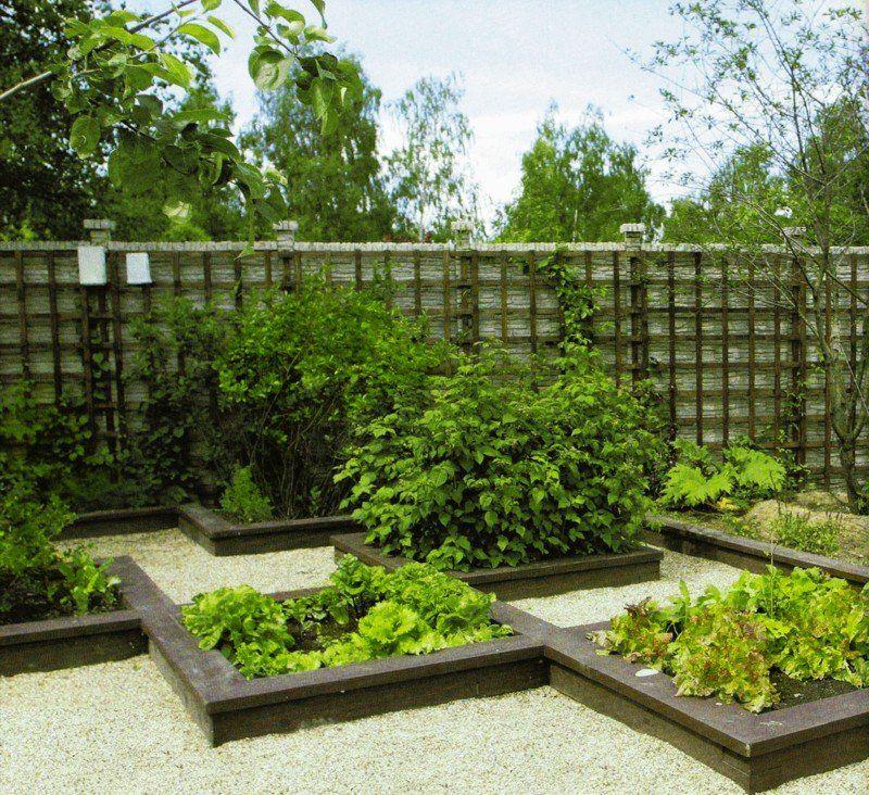 Оформление огорода своими руками (фото)
