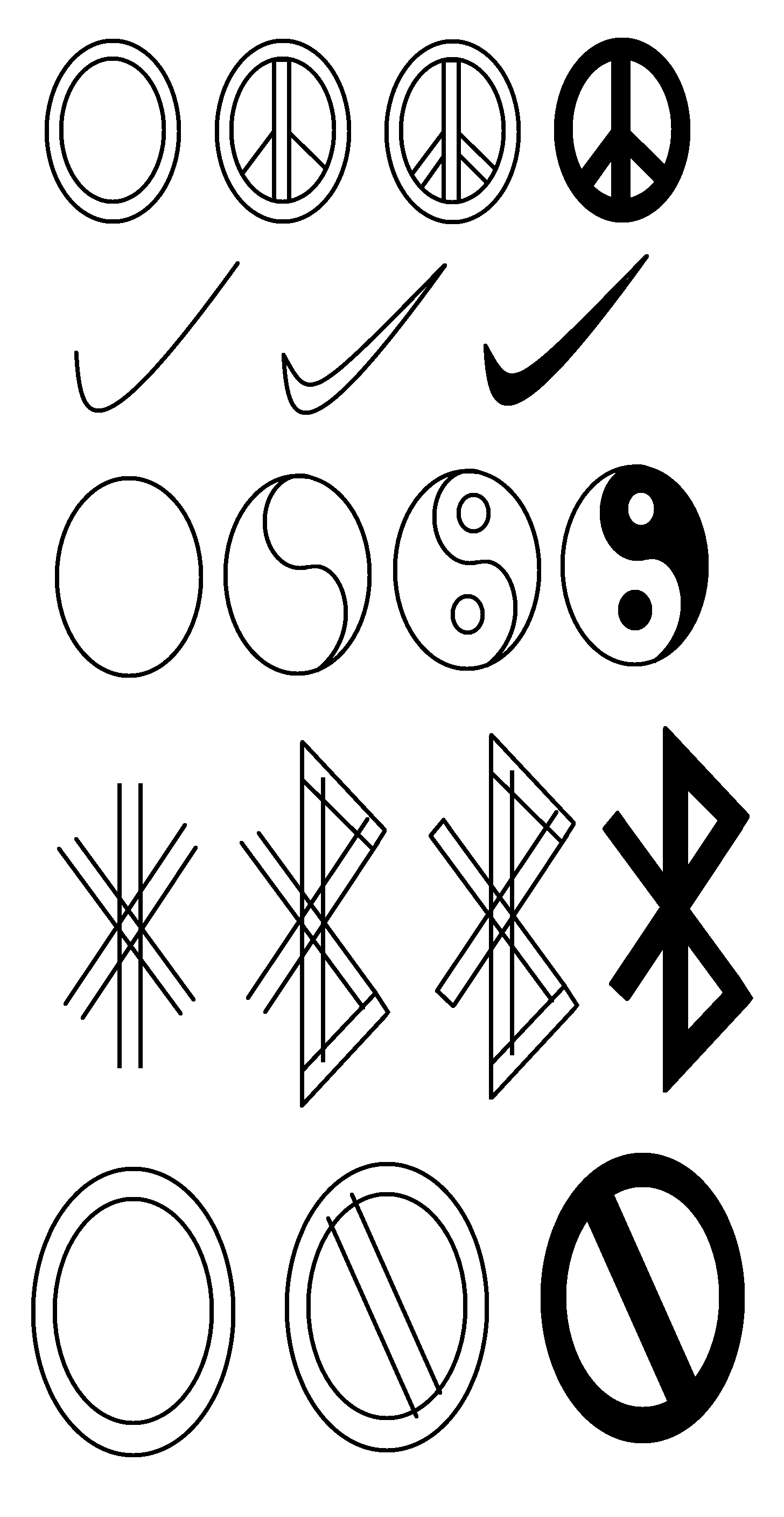 Symbols Tutorial Part 1 Doodle Art Journals Symbols Drawings