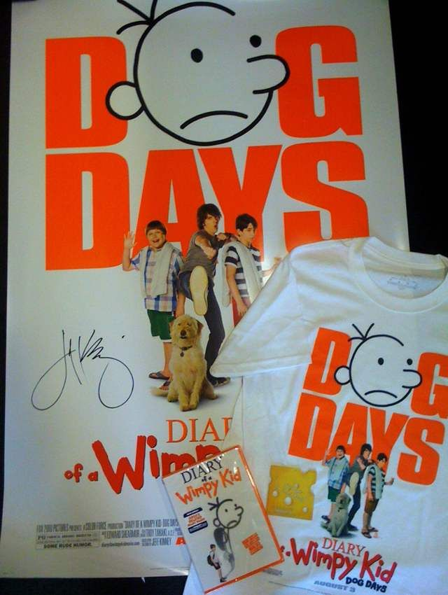 Win a prize pack from diary of a wimpy kid dog days come mon win a prize pack from diary of a wimpy kid dog days come solutioingenieria Gallery