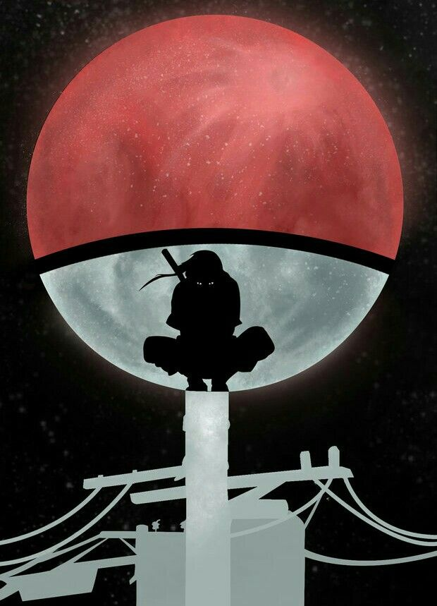 Itachi Wallpaper Naruto Shippuden Anime Itachi Uchiha Naruto Shippudden Blood moon itachi moon wallpaper