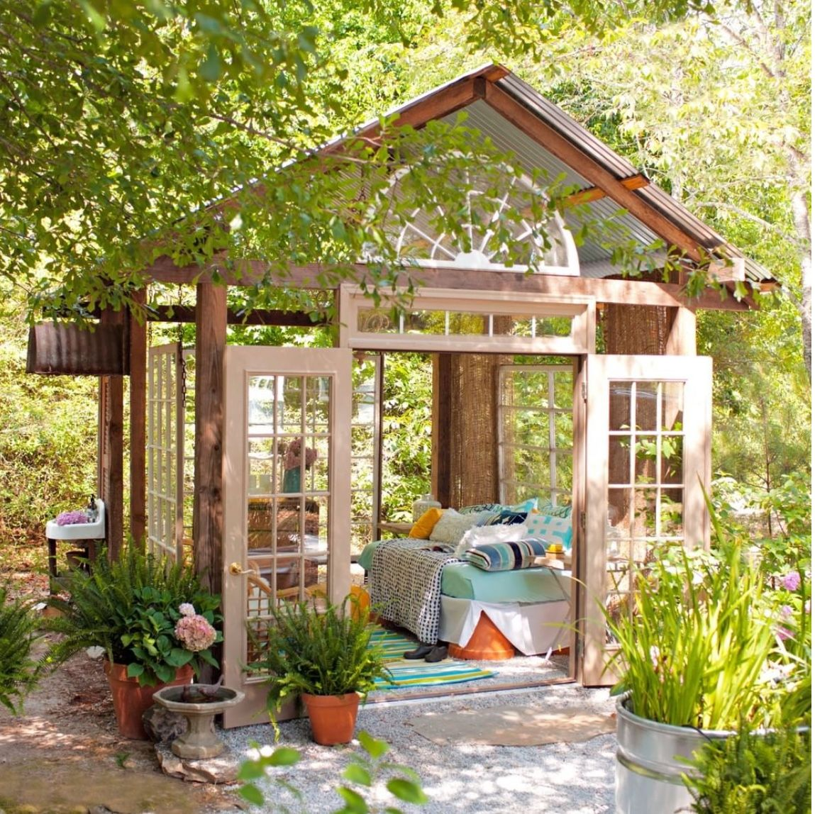 Pin by 💕Fancy Nancy's💕- Eclectic Coll on SHE SAID SHE SHED ... on Fancy Outdoor Living id=28916
