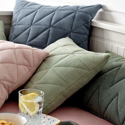 gequilteter kissenbezug pillow n hen kissen n hen quilten. Black Bedroom Furniture Sets. Home Design Ideas