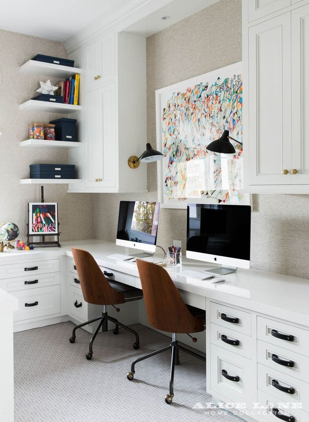 99 Cool and Creative Desk Design Ideas   Desks, Office spaces and Attic