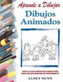 DIBUJOS ANIMADOS.  JANET NUNN  APRENDE A DIBUJAR    SIGMARLIBROS