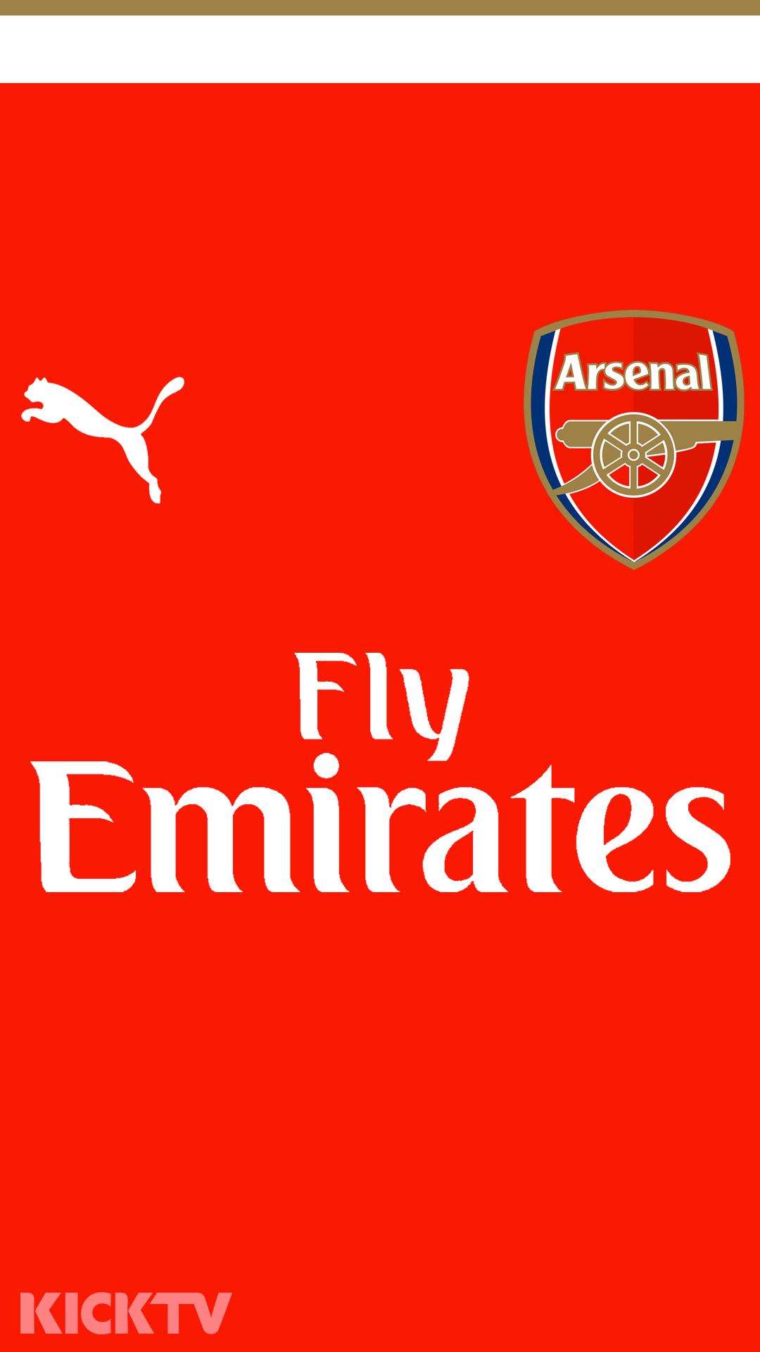 Wallpaper iphone arsenal - 2015 16 Arsenal Jersey Wallpapers On Behance