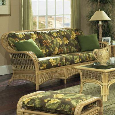 ElanaMar Designs Tropical Breeze Sofa Upholstery: