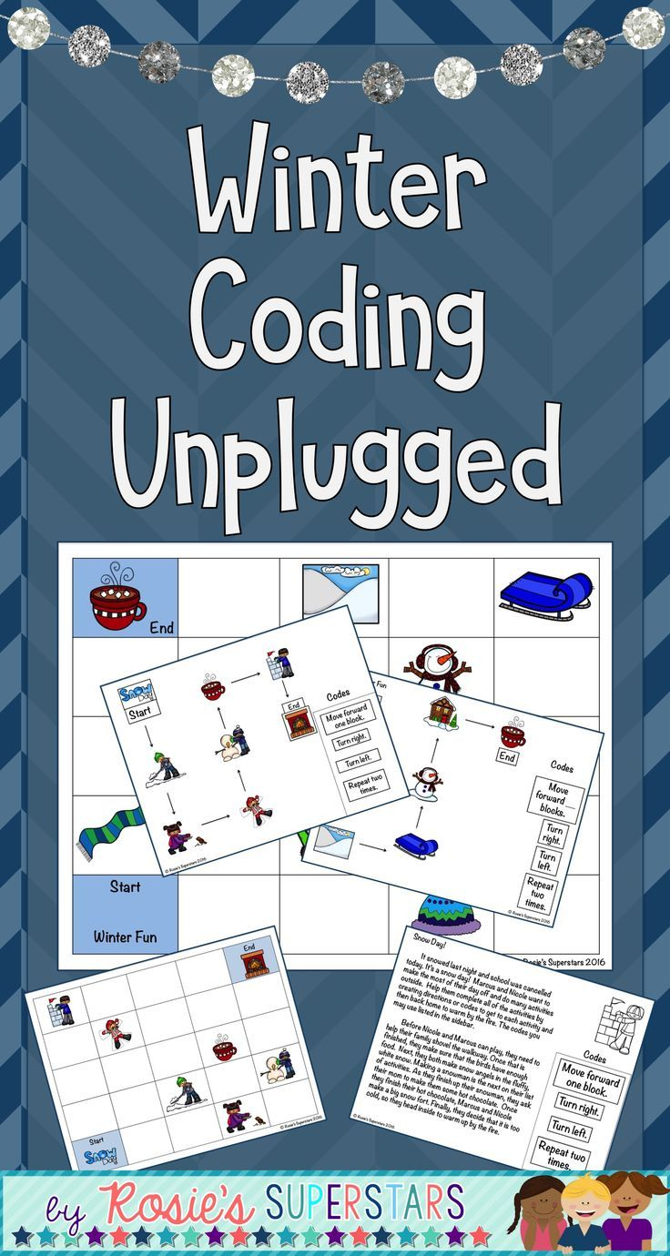 Winter Coding Unplugged ~ Great for Hour of Code™ | Students and ...
