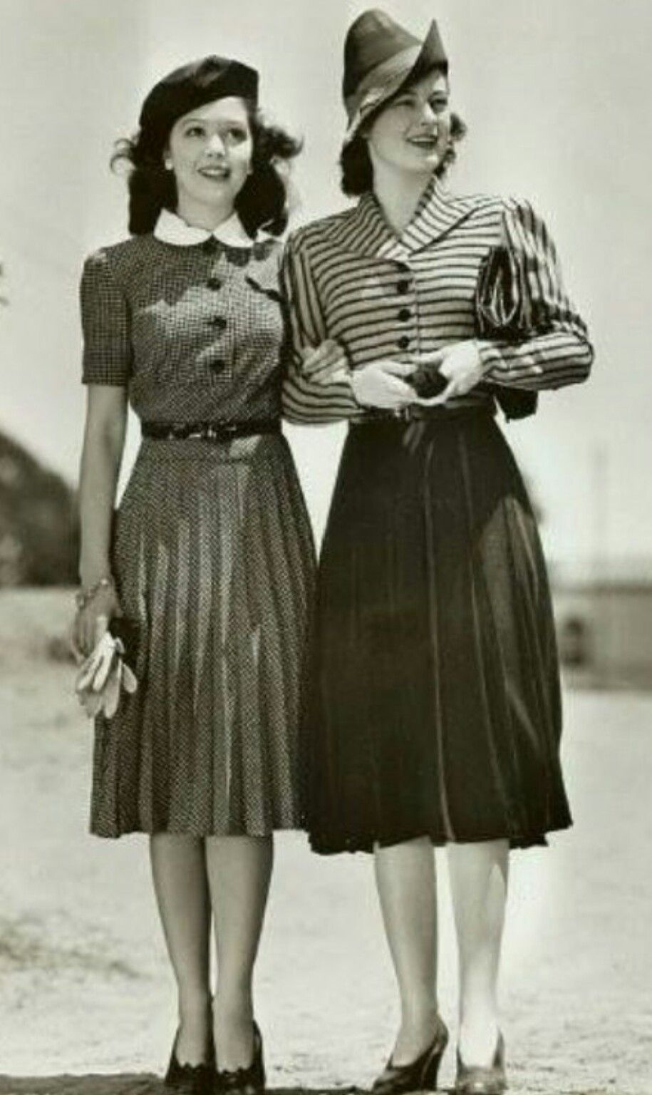 1940s Fashion And Style Trends In 40 Stunning Pictures: Forties Fashion, 1940s Fashion