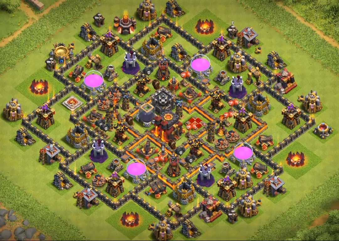 Best Th10 Base Layout 2019 3
