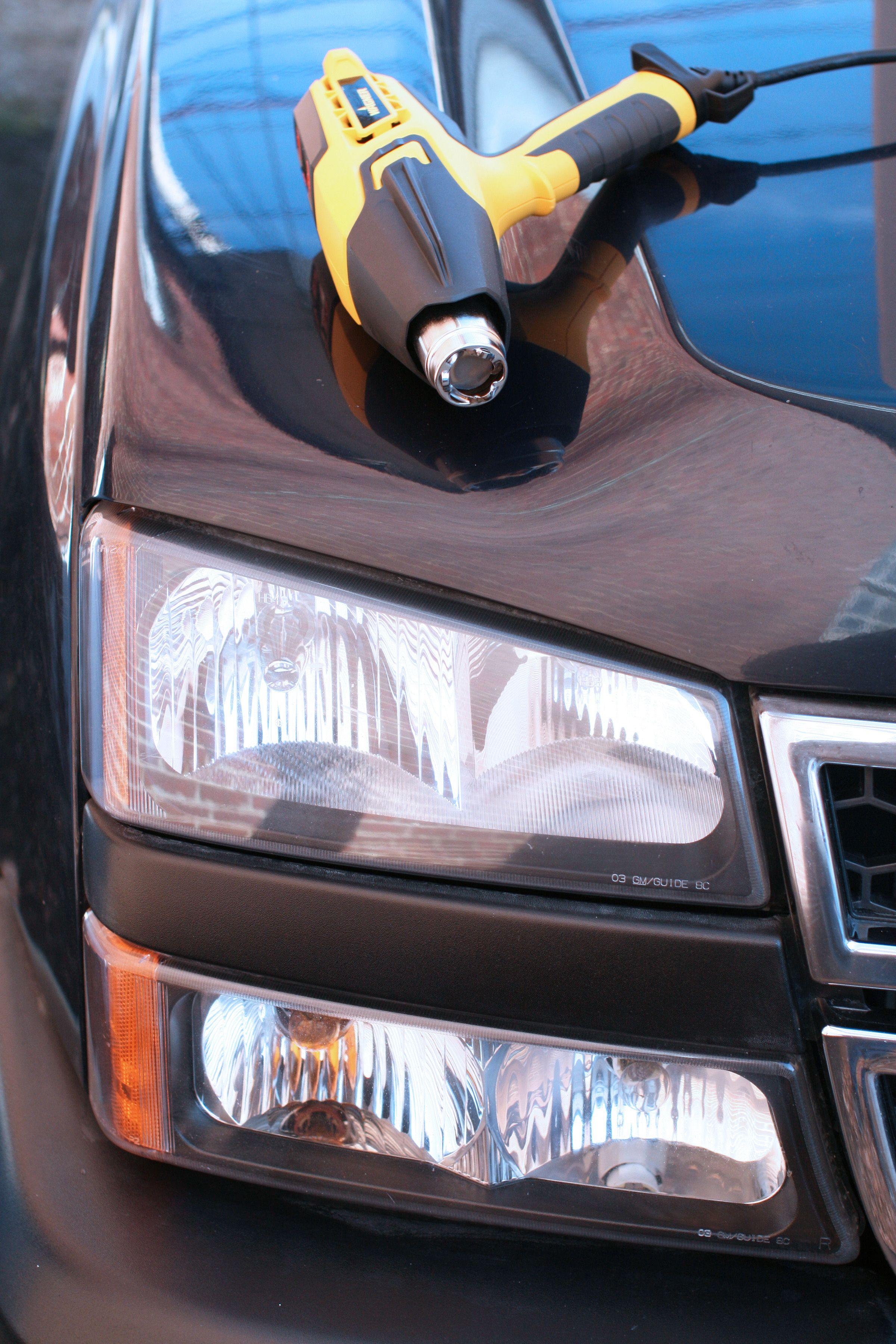 Car colour heat - How To Fix Foggy Car Headlights With A Heat Gun