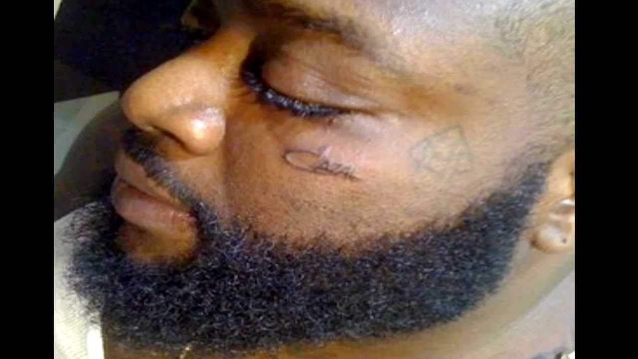 Face ross rick tattoo pics