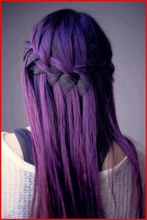 Bright And Crazy Hair Colors To Try If You Dare Fallhaircolor Brunette Hair Color Hair Color Purple Short Purple Hair