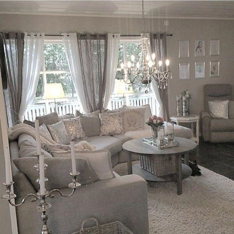 10+ Top Shabby Chic Living Room Curtains