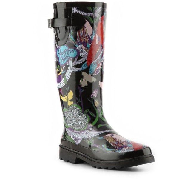 Sakroots Peace Print Rain Boot