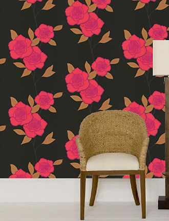 Paper Roses wallpaper from Cole and Son