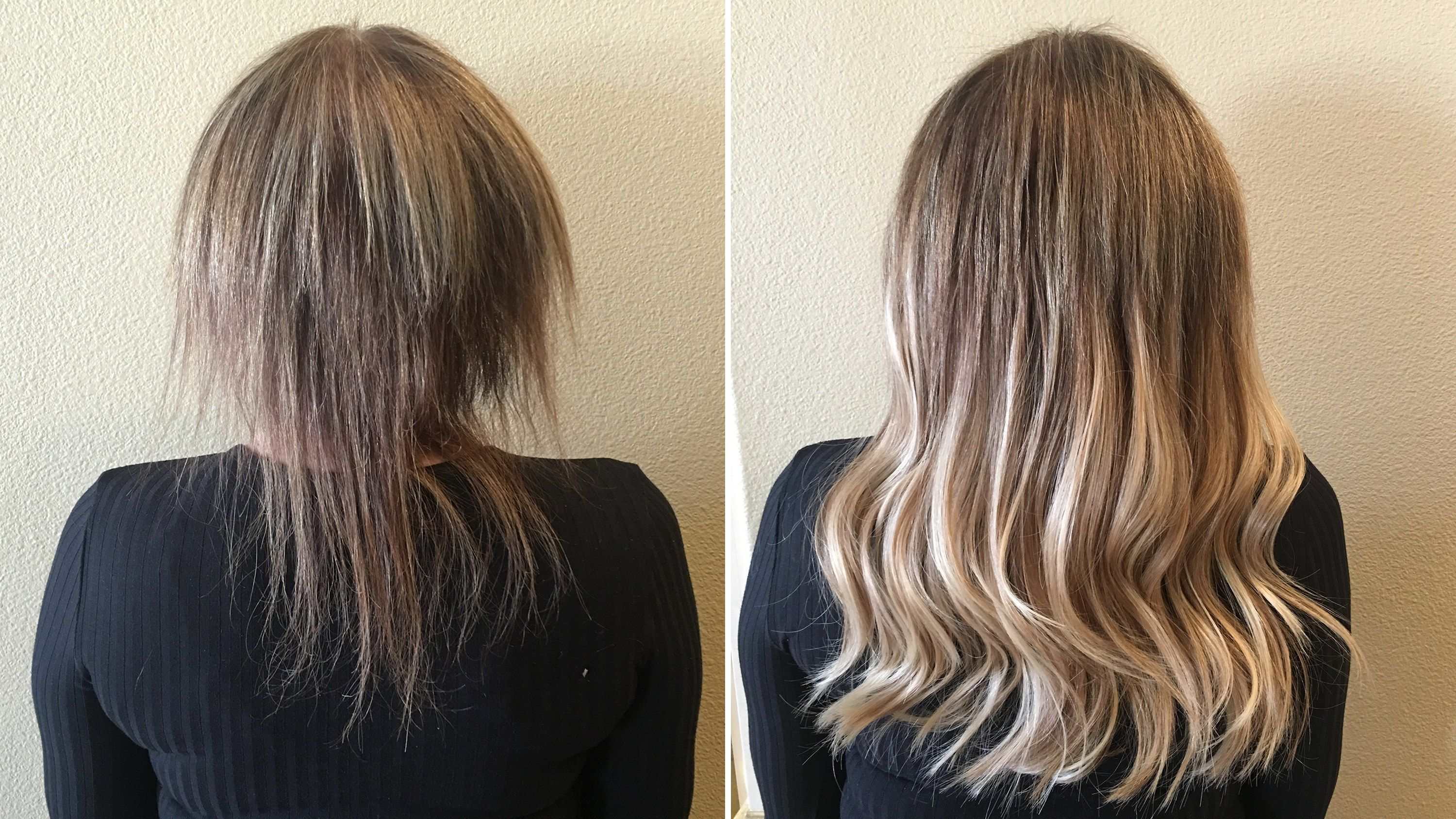 The Most Shocking Hair Extension Before and