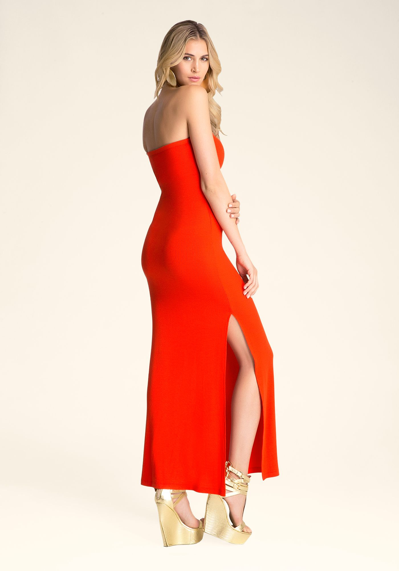 Bebe Logo Jersey Tube Maxi Dress Tayler Rose 221986 Fff Tube Maxi Dresses Strapless Dress Formal Maxi Dress [ 2000 x 1400 Pixel ]