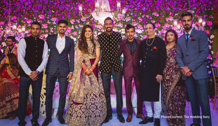 Krunal Pandya and Pankhuri Sharma Celebrity weddings