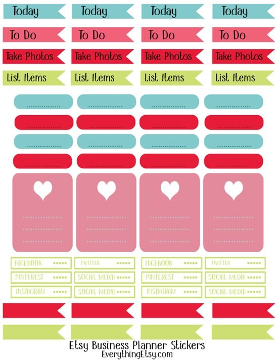 Get your planner ready for the new year with these awesome free planner printables
